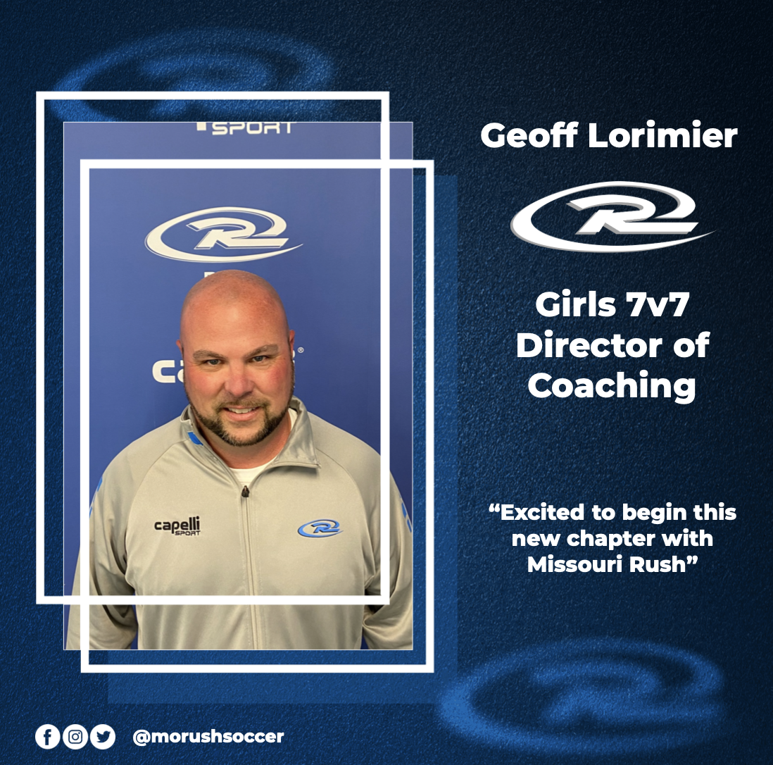Rush Soccer Welcomes Geoff Lorimier