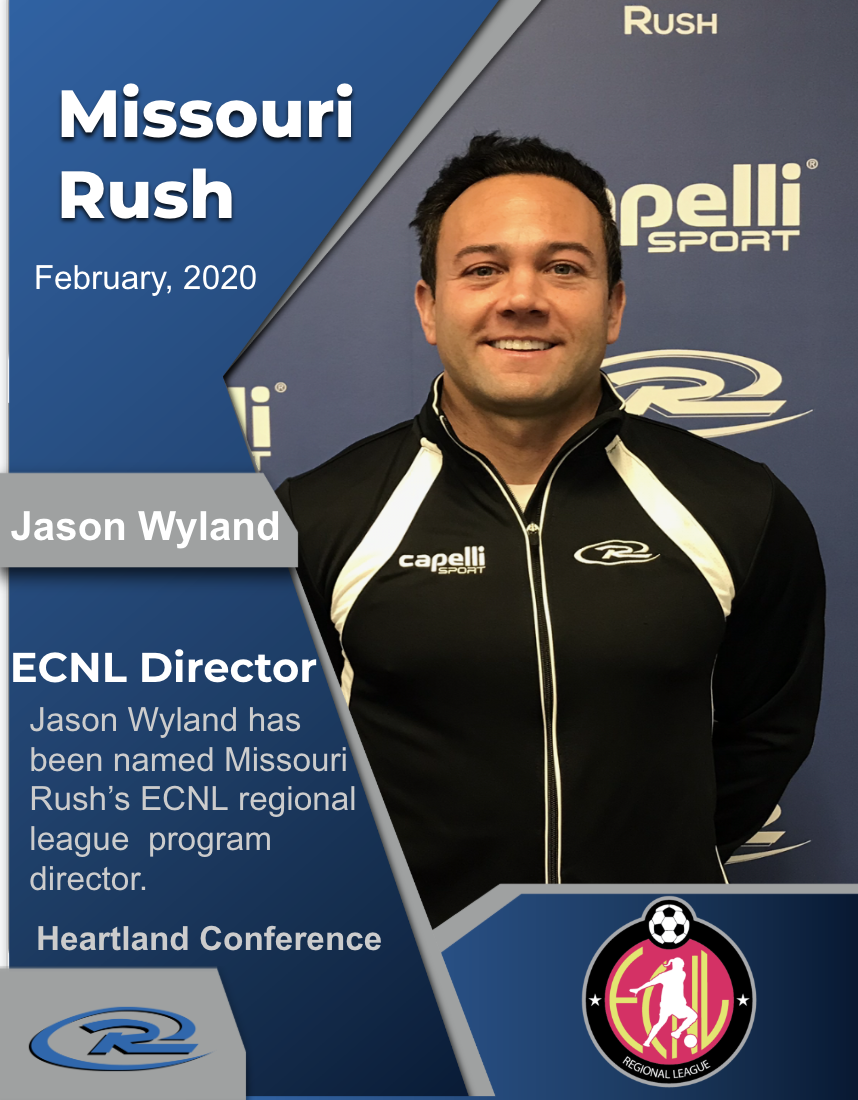Rush Names Jason Wyland ECNL Director
