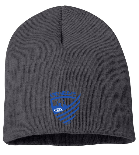 Rush Beanie w/ Blue Stitched Logo $12.00 OUT OF STOCK