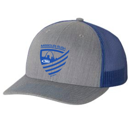 Rush Hat Gray/Royal OUT OF STOCK